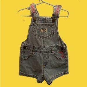 - Oshkosh b'gosh Jean Overalls Size 3T